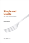 Image for Simple and usable  : web, mobile, and interaction design