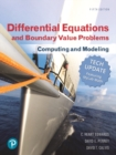 Image for Differential equations and boundary value problems  : computing and modeling tech update