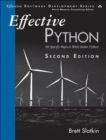Image for Effective Python  : 59 specific ways to write better Python
