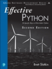 Image for Effective Python: 59 specific ways to write better Python