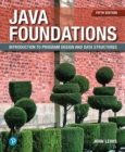 Image for Java foundations  : introduction to program design & data structures