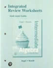 Image for Student Workbook for Intermediate Algebra For College Students with Integrated Review