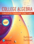 Image for MyLab Math with Pearson eText -- 24-Month Standalone Access Card -- for College Algebra : Concepts through Functions, A Corequisite Solution