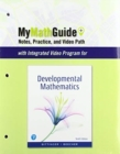 Image for MyMathGuide : Notes, Practice, and Video Path for Developmental Mathematics