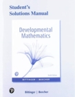Image for Student solutions manual for Developmental mathematics, tenth edition