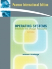 Image for Operating systems  : internals and design principles : International Version