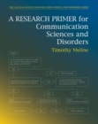 Image for Research primer for communication sciences and disorders