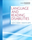 Image for Language and reading disabilities