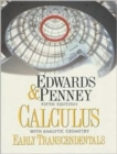 Image for Calculus with Analytic Geometry-Early Transcendentals Version