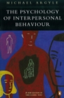 Image for The psychology of interpersonal behaviour