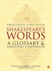Image for Shakespeare's words  : a glossary and language companion