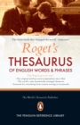 Image for Roget's thesaurus of English words and phrases