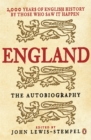 Image for England  : the autobiography