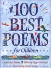 Image for 100 best poems for children