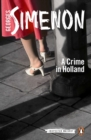 Image for A crime in Holland