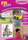 Image for PM Writing Emergent Exemplars for Teaching Writing