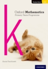 Image for Oxford mathematics primary years programmeStudent book K