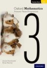 Image for Oxford mathematics primary years programmeTeacher booklet 3