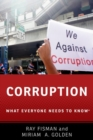 Image for Corruption  : what everyone needs to know