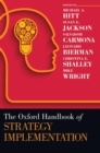 Image for The Oxford handbook of strategy implementation