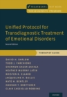 Image for Unified protocol for transdiagnostic treatment of emotional disorders: Therapist guide