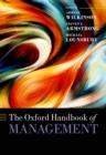 Image for Oxford Handbook of Management