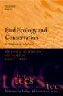 Image for Bird ecology and conservation: a handbook of techniques