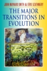 Image for The major transitions in evolution