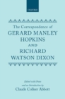 Image for The Letters of Gerard Manley Hopkins to Robert Bridges : vol I