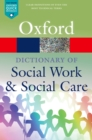 Image for Dictionary of Social Work and Social Care