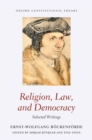Image for Religion, Law, and Democracy: Selected Writings