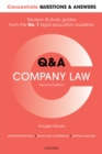 Image for Concentrate Questions and Answers Company Law: Law Q&A Revision and Study Guide
