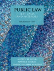Image for Public law: text, cases, and materials