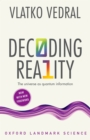 Image for Decoding Reality: The Universe As Quantum Information