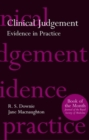 Image for Clinical judgement  : evidence in practice