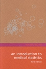 Image for An introduction to medical statistics