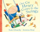Image for Our cat Henry comes to the swings