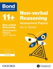 Image for Non-verbal reasoning8-9 years,: Up to speed practice