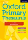 Image for Oxford primary thesaurus