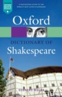 Image for A dictionary of Shakespeare