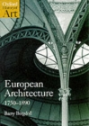 Image for European architecture, 1750-1890
