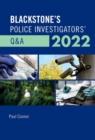 Image for Blackstone's Police Investigators' Q&A 2022