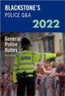Image for Blackstone's police Q&A 2022Volume 4,: General police duties
