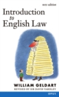 Image for Introduction to English law (originally Elements of English law)