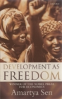 Image for Development as freedom