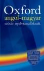 Image for Oxford Wordpower: angol-magyar szotar nyelvtanuloknak