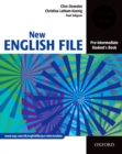 Image for New English filePre-intermediate,: Student's book