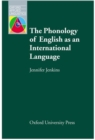 Image for The Phonology of English as an International Language