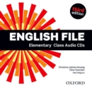 Image for English File third edition: Elementary: Class Audio CDs : The best way to get your students talking