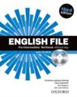 Image for English File third edition: Pre-intermediate: Workbook with iChecker without key